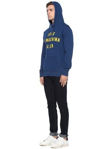 Deus Ex Machina Kapüşonlu Sweatshirt Lacivert